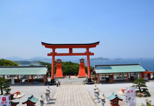 臨海絶景の福徳稲荷神社~響灘を望む絶壁に建つ千本鳥居~ 公開しました