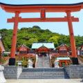 臨海絶景の福徳稲荷神社~響灘を望む絶壁に建つ千本鳥居~