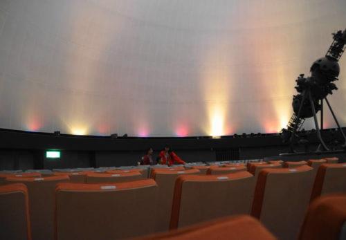 北九州市立児童文化科学会館~プラネタリウムの満天星空は子供達も感動~公開しました